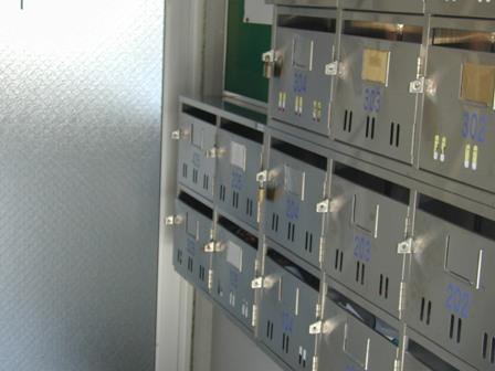 レジデンス郵便箱